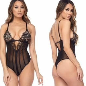 Steph Lace Bodysuit - Haute Couture