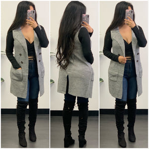 Fabby Vest-(H Grey)