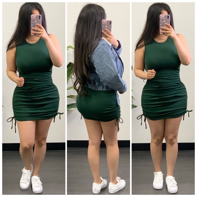 Frances Dress-(H Green)