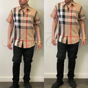 Bryan Shirt-(Brown) - Haute Couture