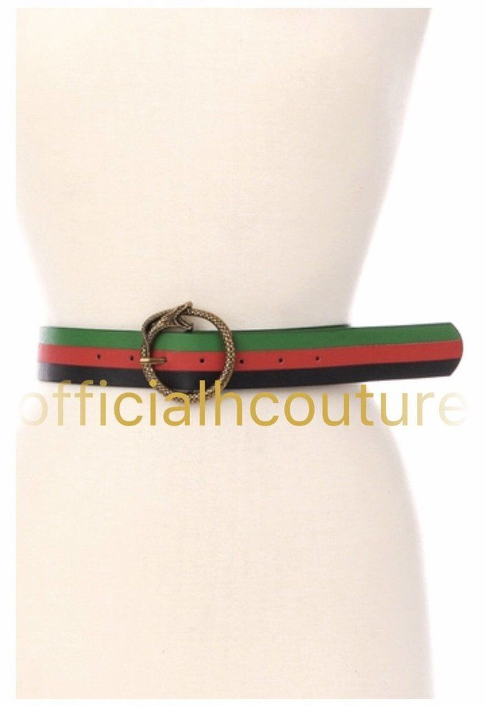 In My Place Belt-(Print) - Haute Couture