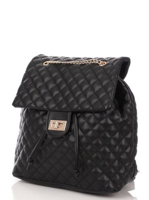 Christy Quilted Backpack - Haute Couture