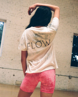 Limited Edition Flow Vintage Tee - Crushed Ice