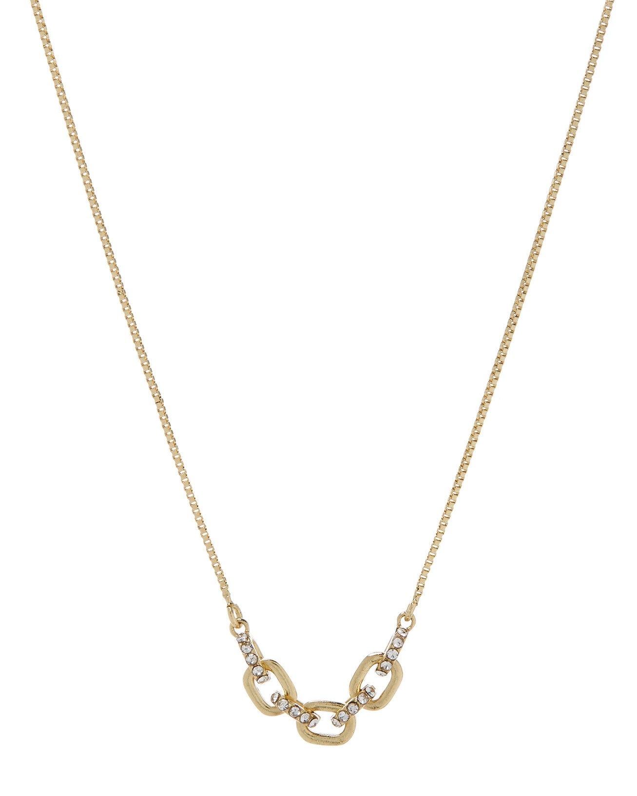 The Blair Chain Charm Necklace - Gold