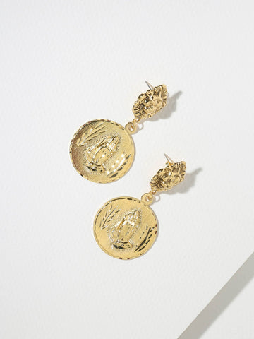 The Supreme Earrings - Gold