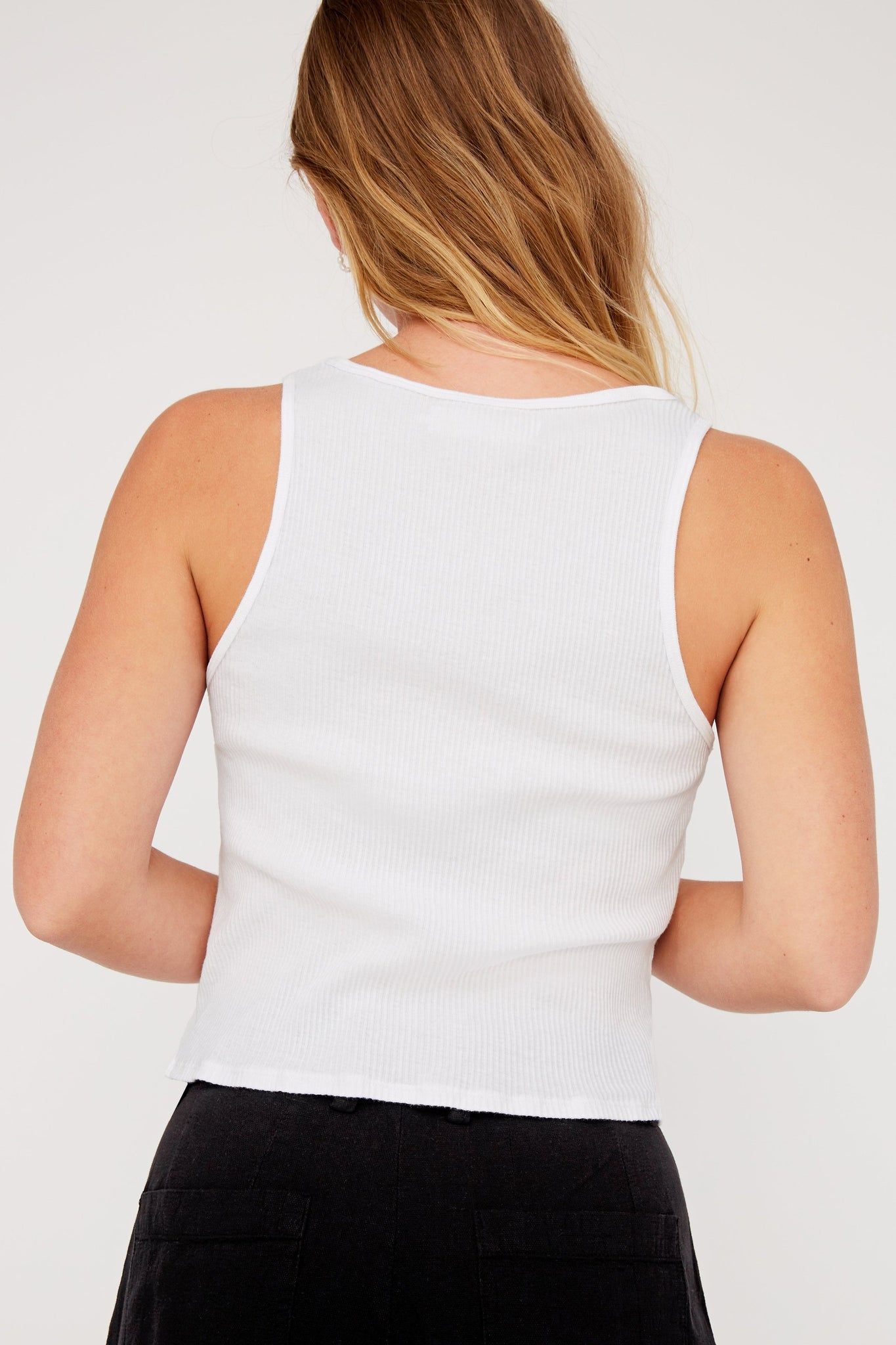 Roxy Tank - Whitewash