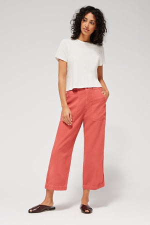 Stella Trousers - Rhubarb SAMPLE