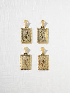 Initial Necklaces - K