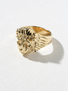 The Lion Ring - Gold