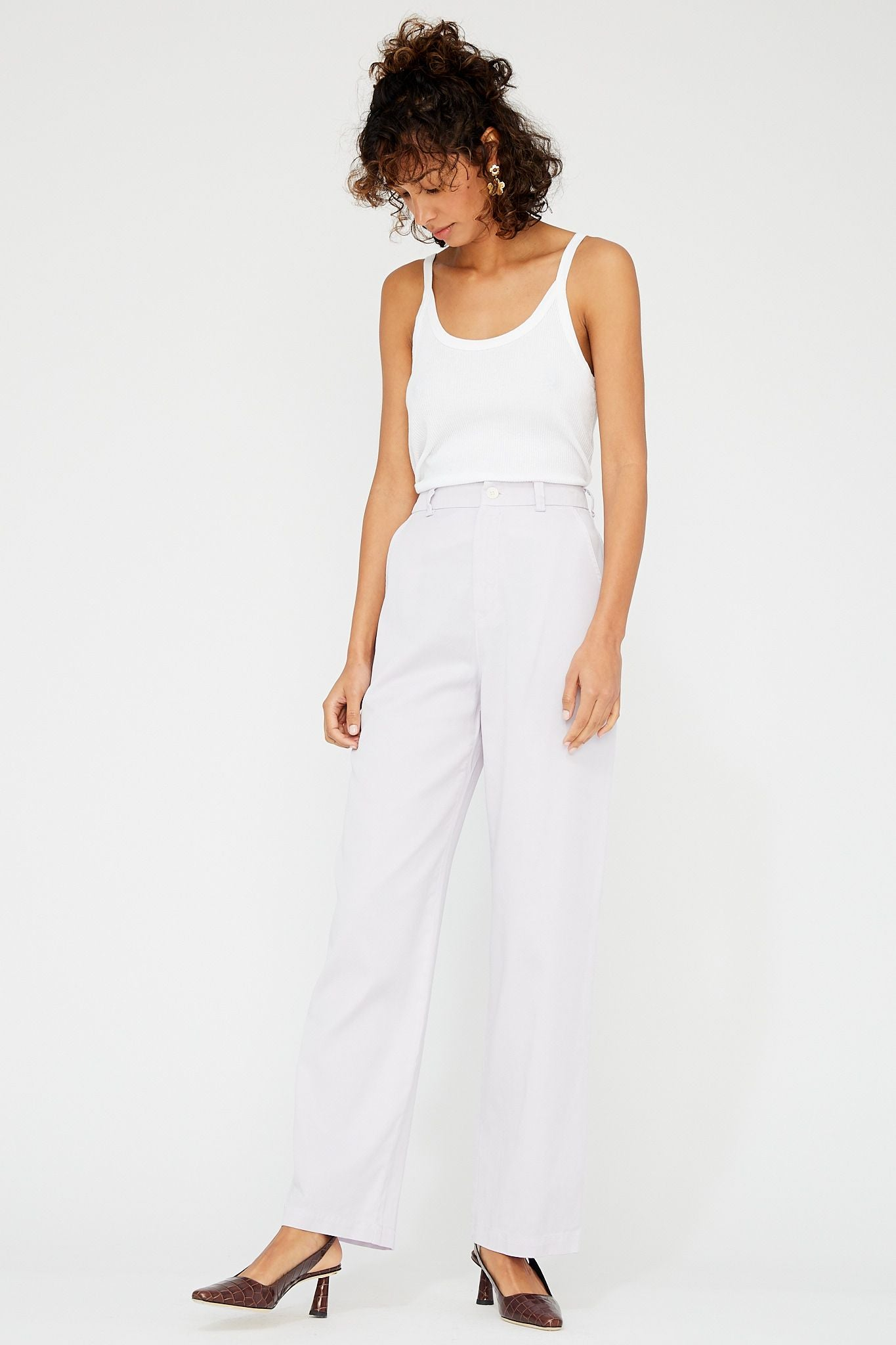 Pyper Trousers - Lilac SAMPLE
