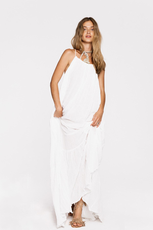 Krishna Maxi Dress - White