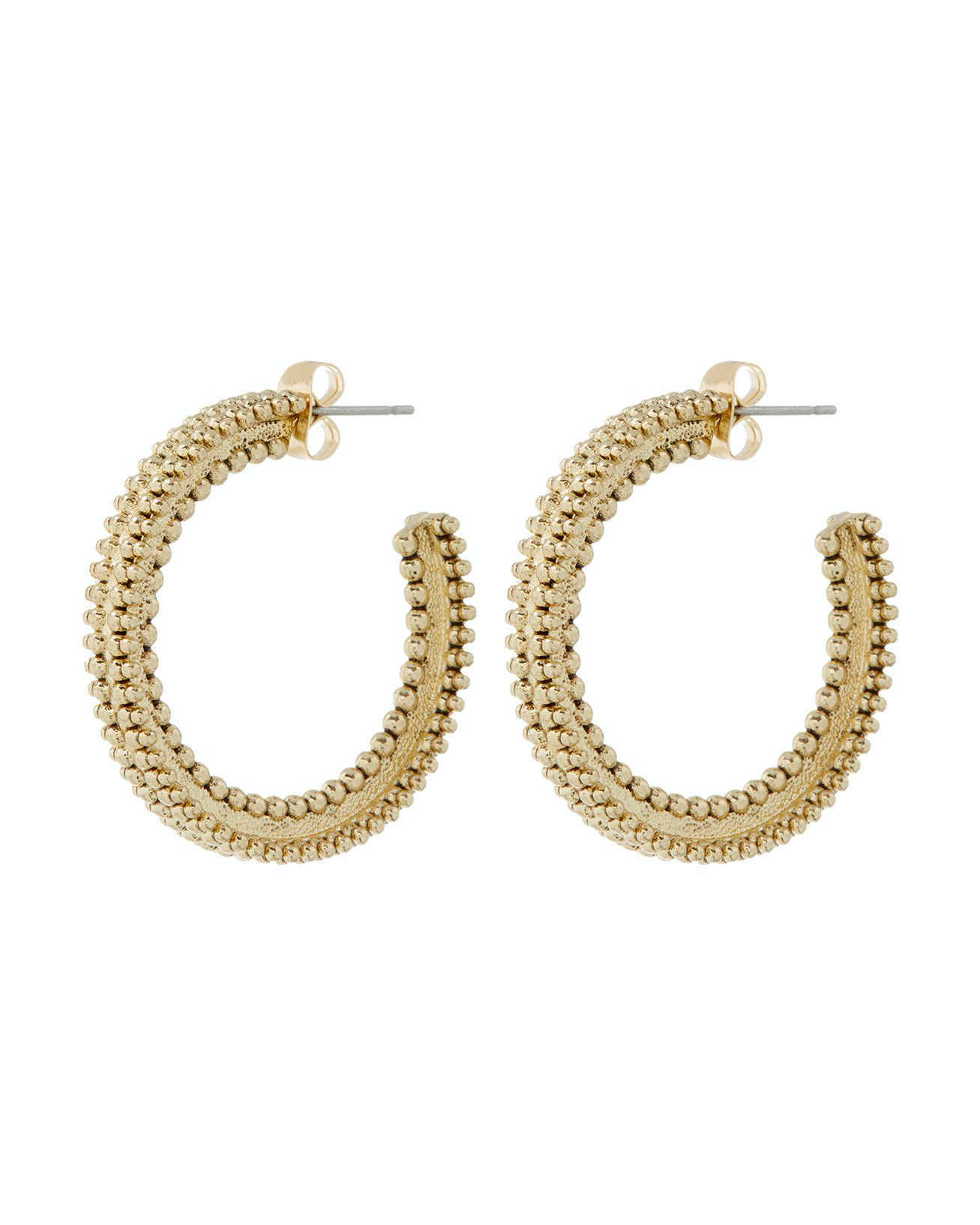 The Amira Hoops - Gold