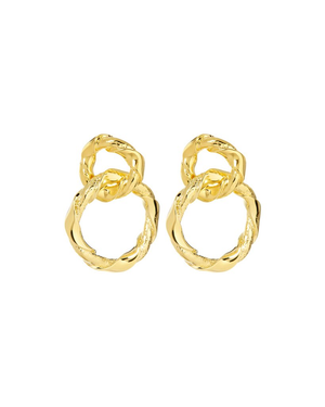The Cecilia Hoops - Gold