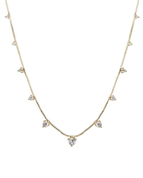 The Orien Charm Necklace- Gold
