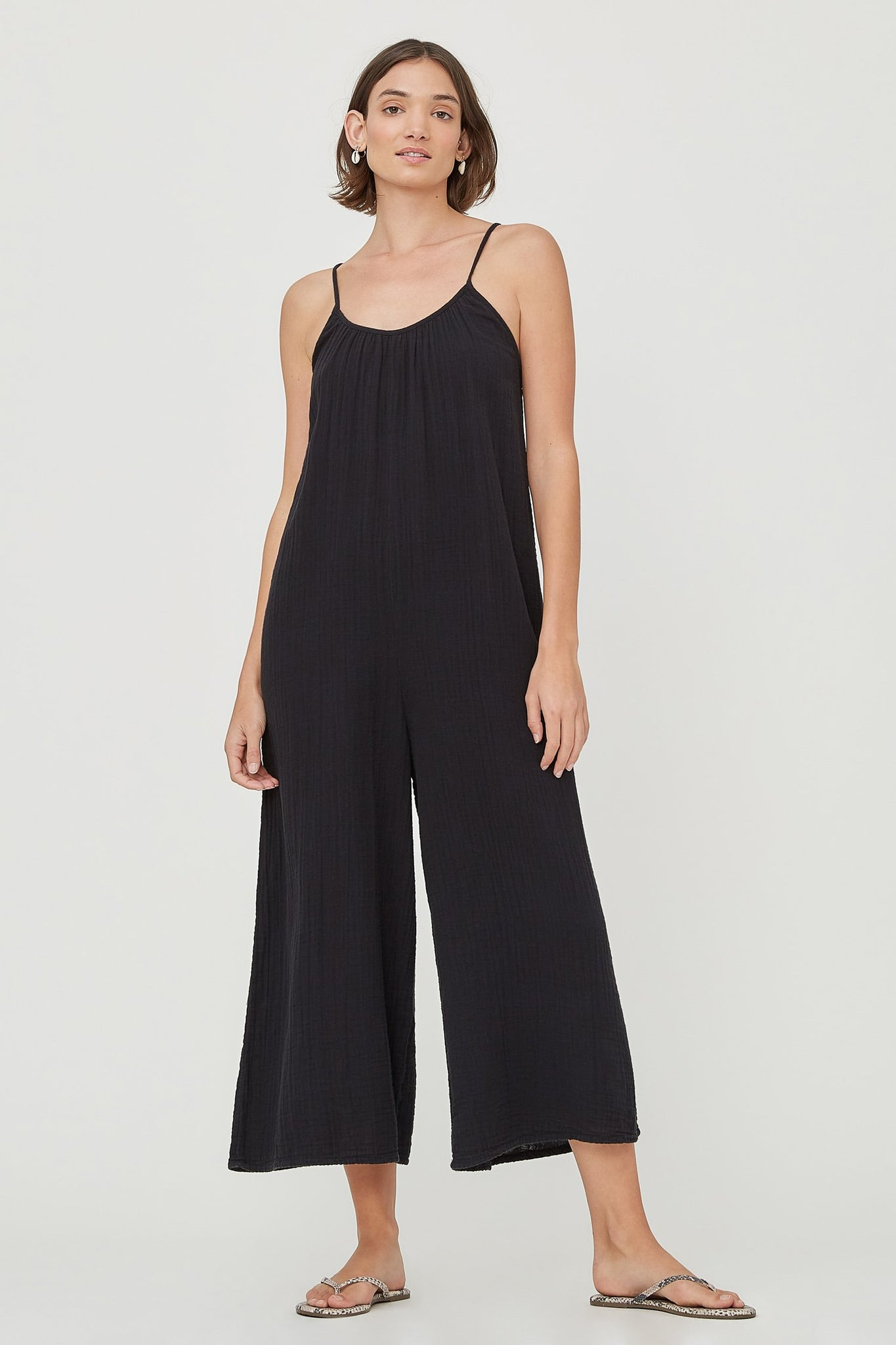Woodstock Jumpsuit - Tar