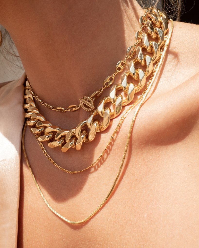 Seraphina Statement Necklace - Gold