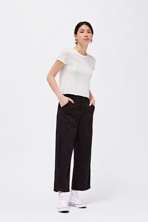 Brushed Stella Trousers - Tar