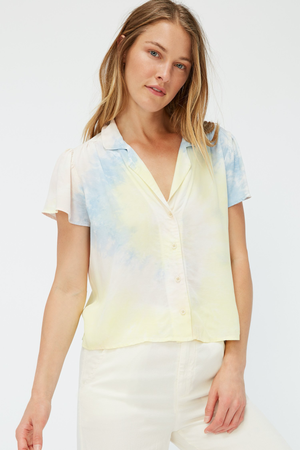 Margot Blouse - Ziggy Tie Dye SAMPLE