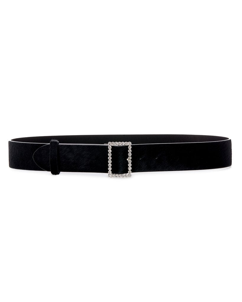 The Crystal Buckle Belt - Silver SAMPLE