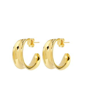 The Margot Hoops - Gold