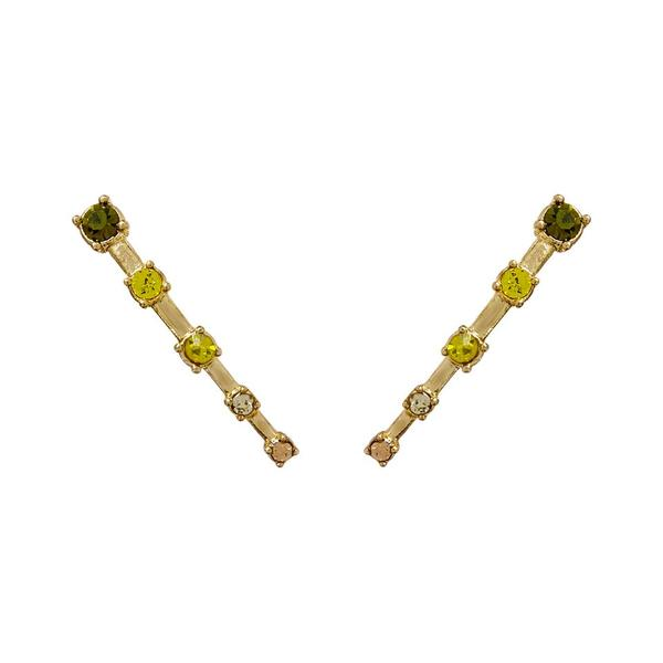 Ombre Constellation Crawler Earrings - Gold
