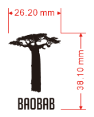 AGL Discs - Baobab Tree Mini Stamp