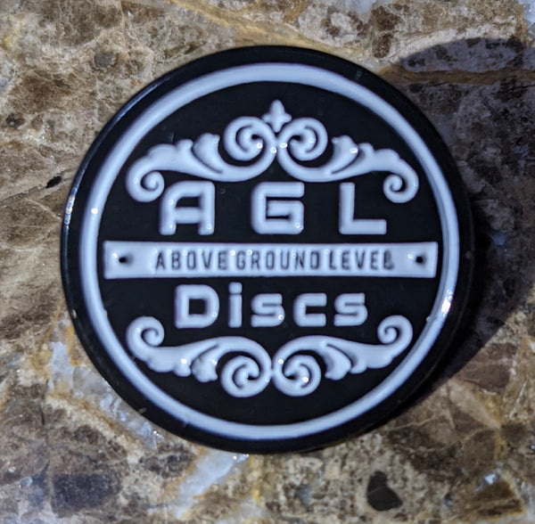 AGL Discs - AGL Original Circle Logo Hat Pin