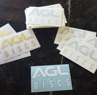 "AGL Discs - Decals (3"" - Assorted Colors)"