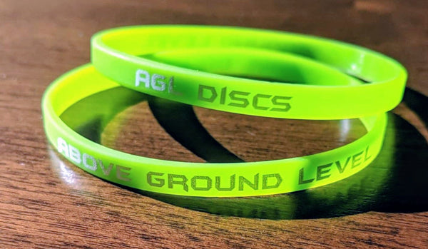 AGL Discs - AGL 2pk Wristbands (3x Colors)
