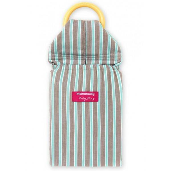 Mamaway Choc Mint Ice Cream Baby Ring Sling