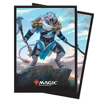 Ultra Pro 80 Magic The Gathering Deck Protector Sleeves Core Set 2019 V1 Ajani-Cubox Australia