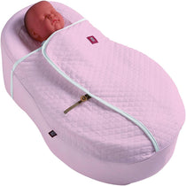 Red Castle Cocoonababy Nest Cover Quilted Pink - Cubox Australia