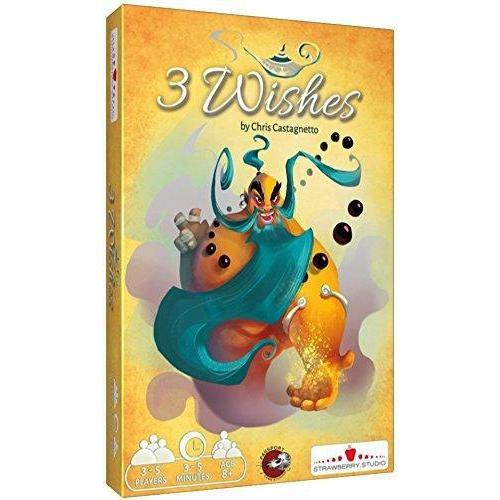 3 Wishes Board Game - Cubox Australia
