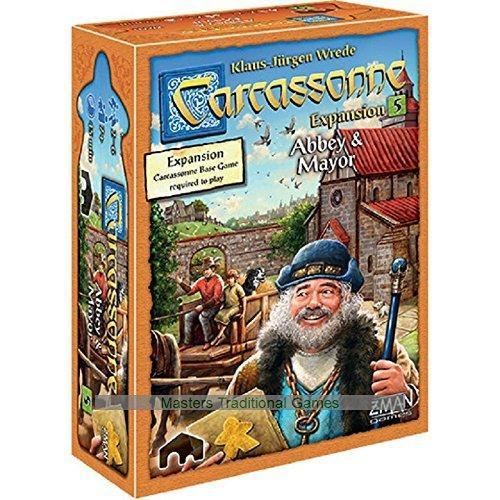 Carcassonne Expansion 5: Abbey and Mayor Board Game