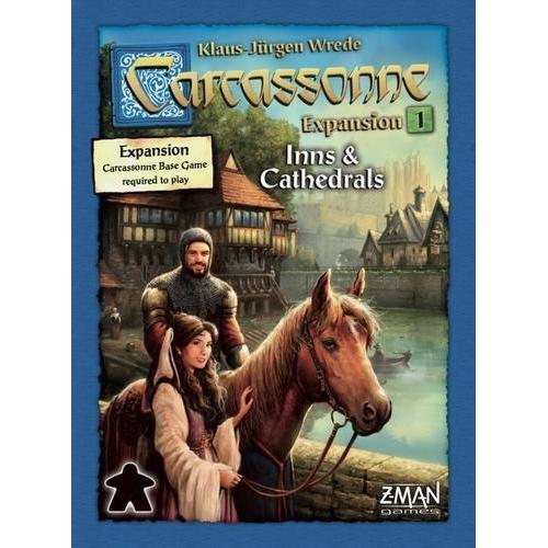 Carcassonne Expansion 1: Inns and Cathedrals Board Game