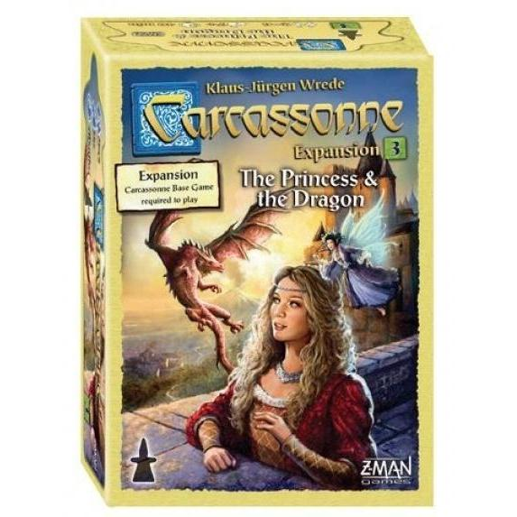 Carcassonne Expansion 3: The Princess and the Dragon Board Game