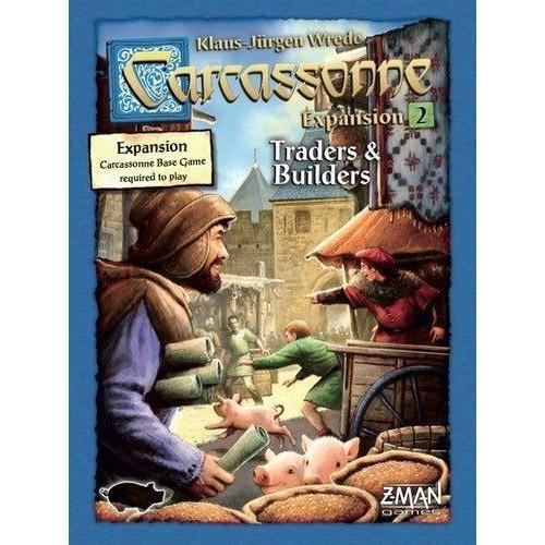 Carcassonne Expansion 2: Traders and Builders Board Game