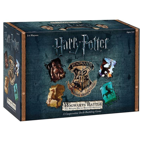 Harry Potter Hogwarts Battle: The Monster Box Of Monsters Expansion - Cubox Australia