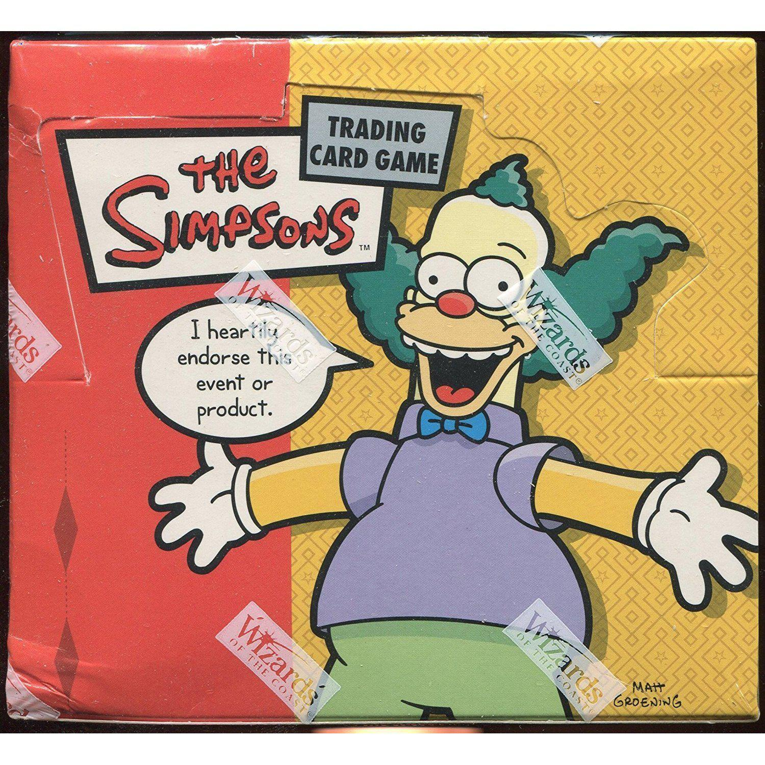 The Simpsons TCG Krusty Approved Booster Box - Cubox Australia