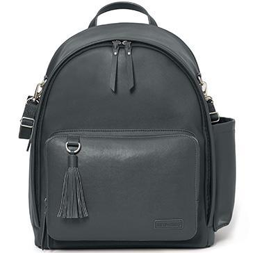 Skip Hop Greenwich Simply Chic Backpack Smoke