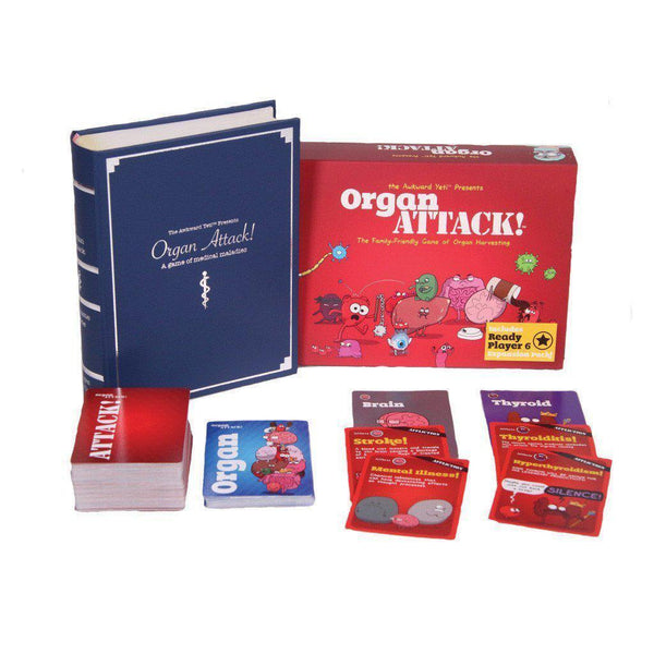Organ ATTACK! Board Game - Cubox Australia