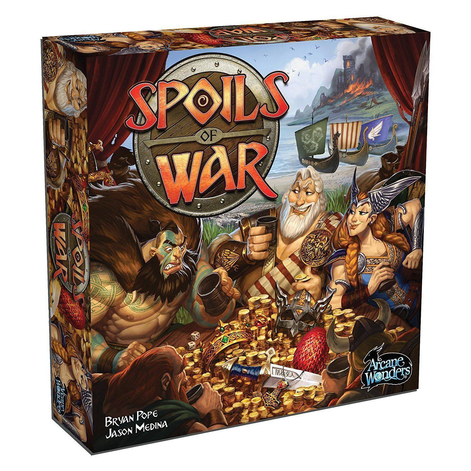 Spoils of War Board Game - Cubox Australia