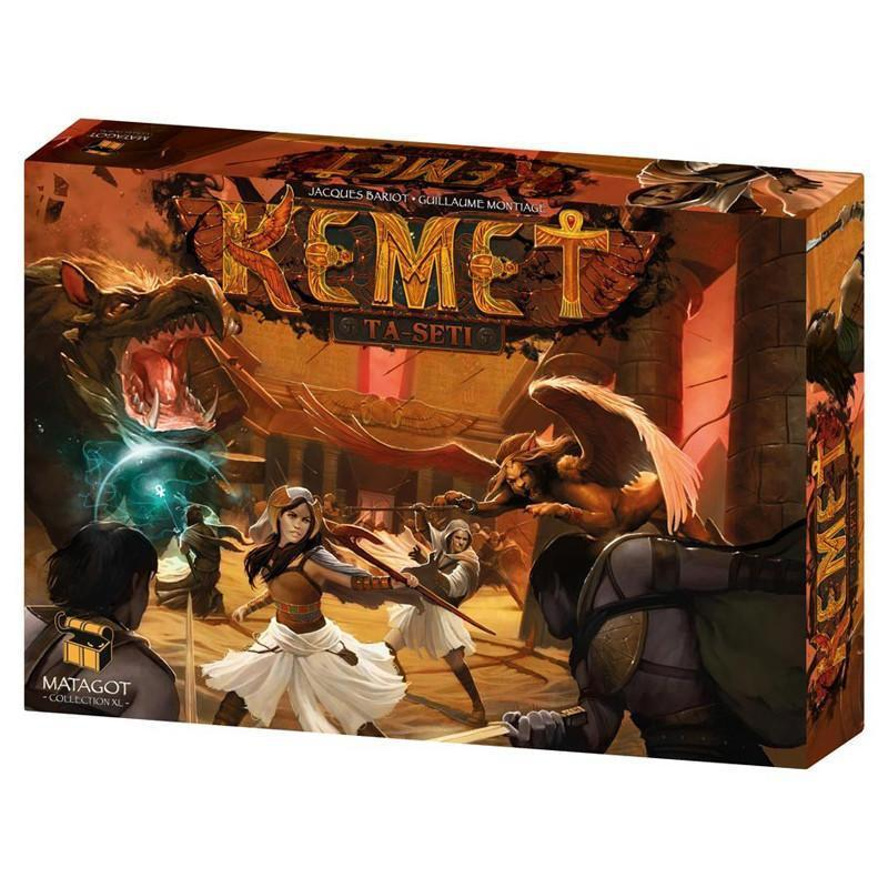 Kemet Ta-Seti Board Game
