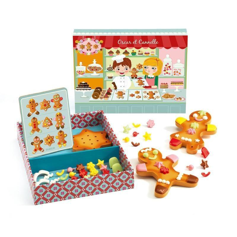 Djeco Oscar And Cannelle Gingerbread Set
