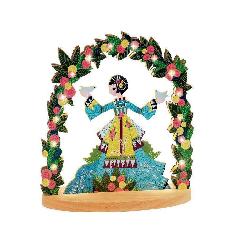 Djeco Miss Doves Wooden Night Light