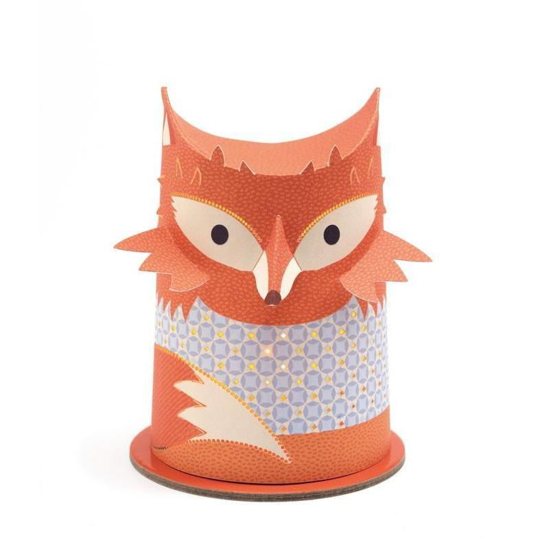 Djeco Mini Fox Night Light - Cubox Australia