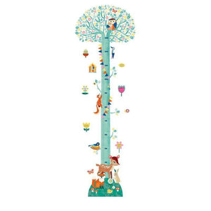 Djeco Blossoming Tree Height Wall Sticker - Cubox Australia