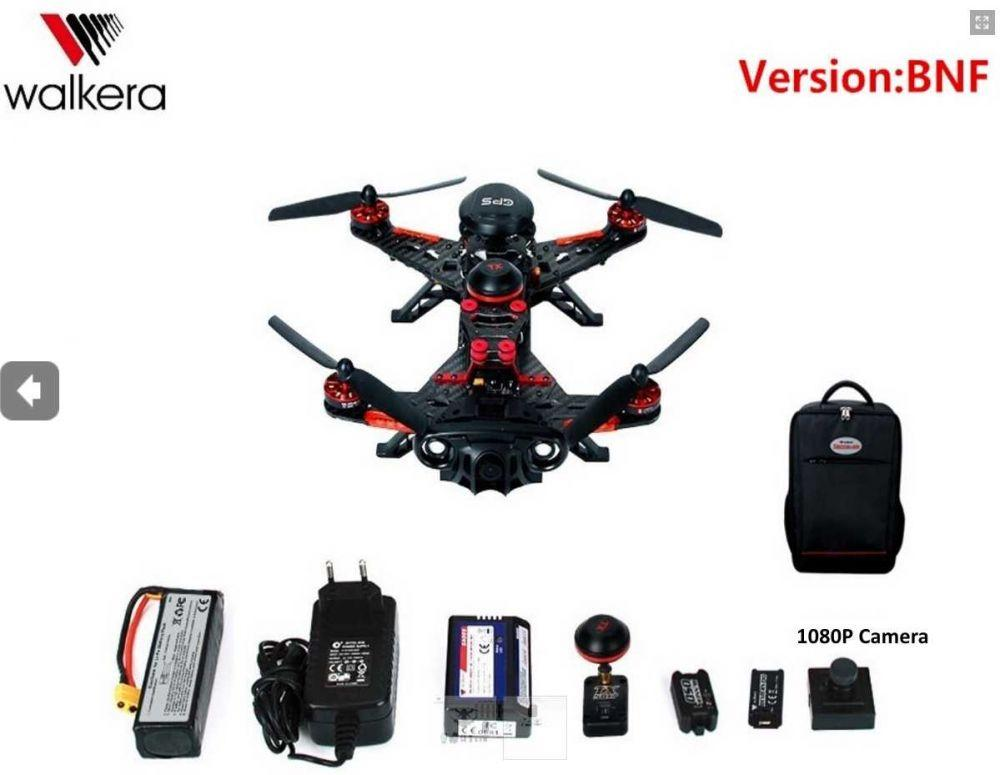 Walkera Runner 250 Advance BNF 1080P camera with Backpack