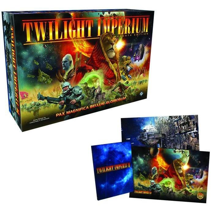 Twilight Imperium 4th Edition Board Game with Hardcover Rulebook - Cubox Australia