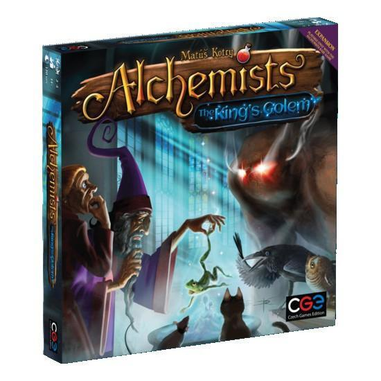 Alchemists: Kings Golem Expansion - Cubox Australia